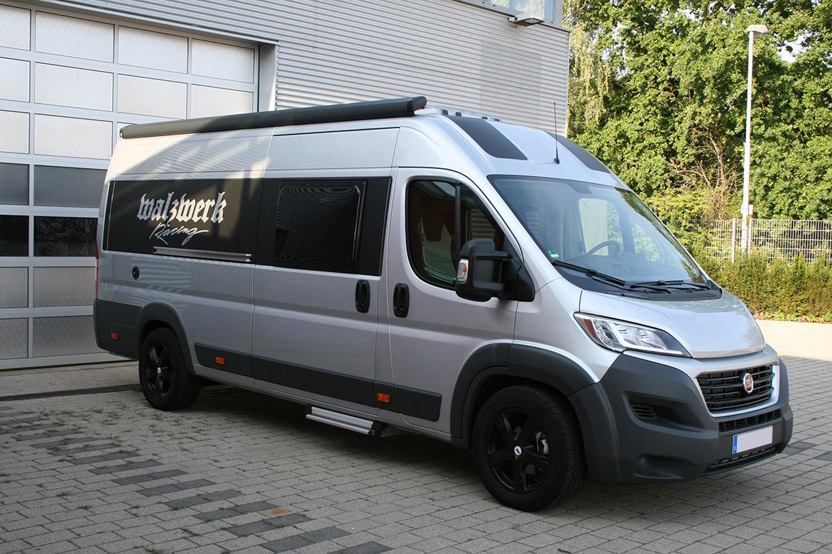 Fiat Wohnmobil Walzwerk